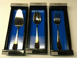 3 Serving Utensils Towle Living Collection Stainless Fork Sp