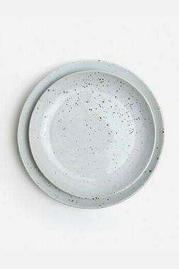 Blue Pheasant Marcus Round Serving Platters, Set of 2, White