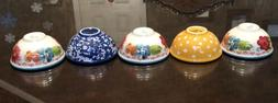 The Pioneer Woman Condiment Dip Bowl Set of 5 Bowls~ Free Sh