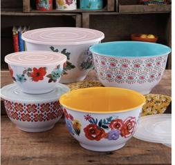 The Pioneer Woman Country Garden Melamine Mixing Bowl Set 10