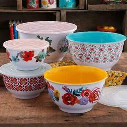 The Pioneer Woman Country Garden Melamine Mixing Bowl Set, 1