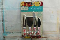 Pioneer Woman Gorgeous Garden Cheese Knife Serving Set