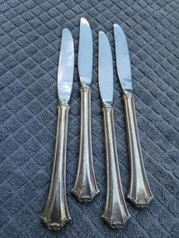 NICE set of 4! Reed & Barton Country French Stainless DINNER