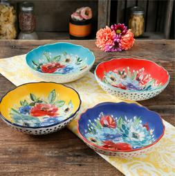 Pasta Bowl Cookware Set of 4 The Pioneer Woman 7.5 Inch Colo