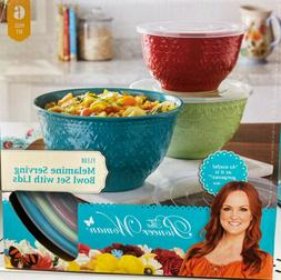 The Pioneer Woman Melamine Bowl With Lids